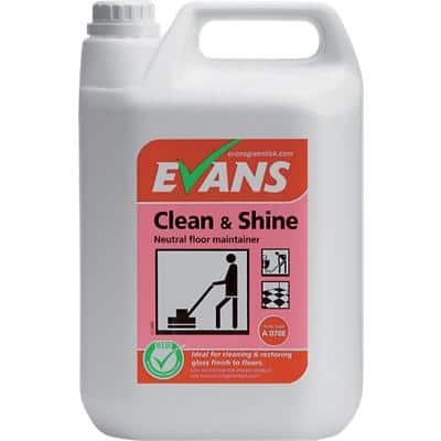 Evans Vanodine Clean & Shine Floor Maintainer 5L