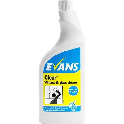 Evans Vanodine Clear Window & Glass Cleaner 750ml