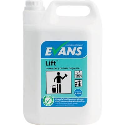Evans Vanodine Lift Kitchen Disinfectants & Degreasers 5L