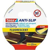 tesa Anti Slip Tape 55587 25 mm x 5 m Yellow