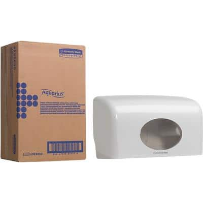 AQUARIUS Toilet roll dispenser Aquarius 6992 Plastic White
