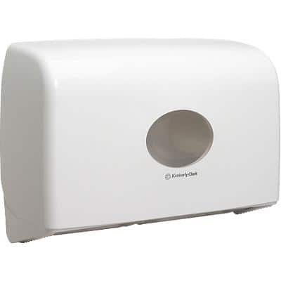 AQUARIUS Toilet Roll Dispenser 6947 Plastic White