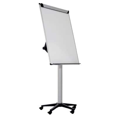 Bi-Office Flipchart Easel Earth Mobile Grey 75 x 185 cm