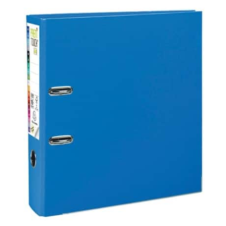 Exacompta premtouch Lever Arch File A4+ 2 ring 80 mm Blue