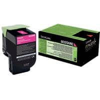 Lexmark 80C2SME Original Magenta Cartridge toner