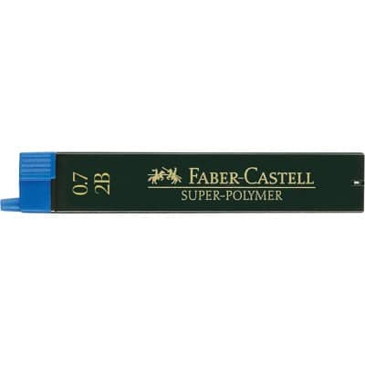 Faber-Castell fineline super polymer 2B 0.7 mm pencil leads (pack of 12)