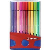 STABILO Felt-Tip Pens Pen 68 1 mm Assorted 20 Pieces