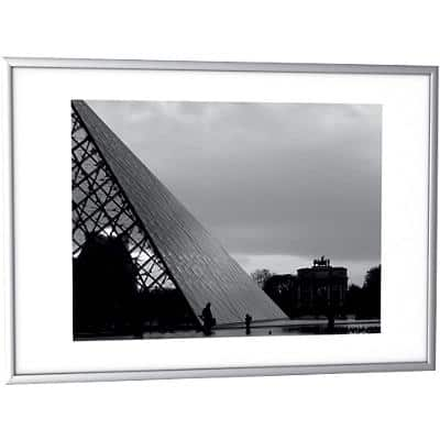 Paperflow Wall Mountable Decoration Frame A3 427 x 15 x 304 mm Silver
