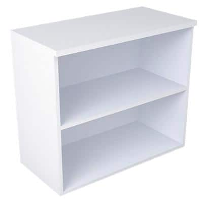 Bookcase with 2 Shelves 800 x 400 x 720 mm White