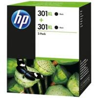 HP 301XL Original Ink Cartridge D8J45AE Black Pack of 2