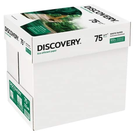 Discovery Fastpack Printer Paper A4 75gsm White 2500 sheets