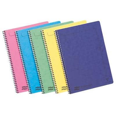Europa Notebook 3154 A4 Ruled Assorted 10 Pieces of 60 Sheets