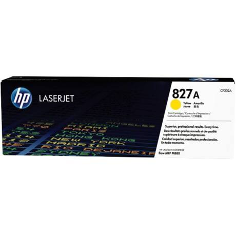 HP 827A Original Yellow Toner Cartridge CF302A