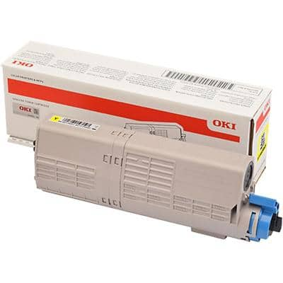 OKI 46490605 Original Toner Cartridge Yellow
