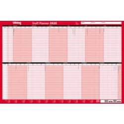 Office Depot Wall Planners Staff Unmounted 2019