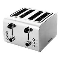igenix Toaster 4 Slices Stainless Steel IG3204 1800W Silver
