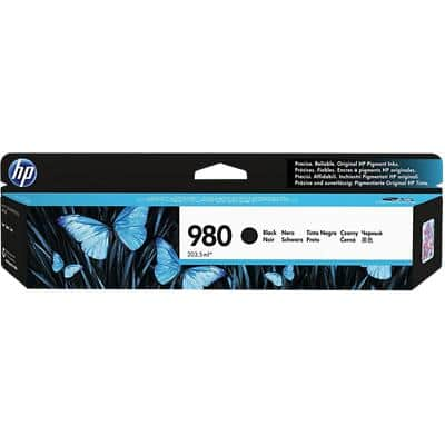 HP 980 Original Ink Cartridge D8J10A Black