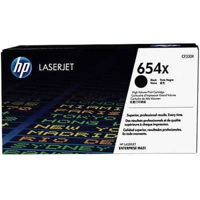 HP 654X Original Toner Cartridge CF330X Black