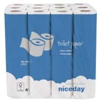 Niceday Toilet Rolls Standard 2 Ply 48 Pieces of 200 Sheets