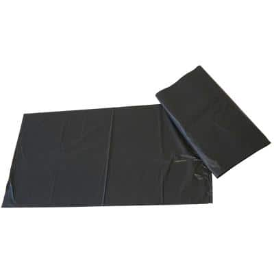 Paclan Refuse Sacks 75 L Black 73.7 x 45.7 x 83.8 cm 200 Pieces
