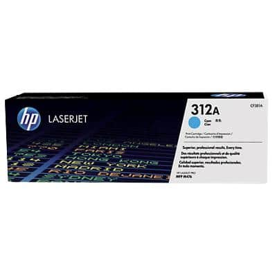 HP 312A Original Toner Cartridge CF381A Cyan