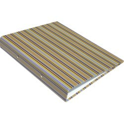 Stewart Superior Europe Ring Binder A4 2 ring 25 mm Multi Coloured Striped