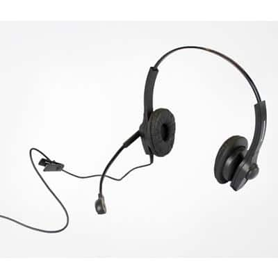 Connected Essentials CEH-100 Telephone Headset Black