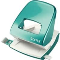 Leitz NeXXt WOW Metal 2 Hole Punch 5008 30 Sheets Ice Blue