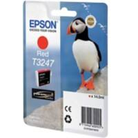 Epson Ink Cartridge  T3247 Red, Original, Pigment-based ink, Epson, SureColor SC-P400, 1 pc(s)