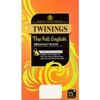 Twinings English Breakfast Tea Bags Pack of 15