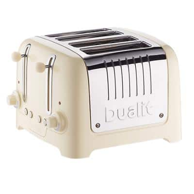 Dualit 4-slot lite cream toaster