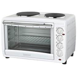 Igenix 45 L mini oven with double hotplate