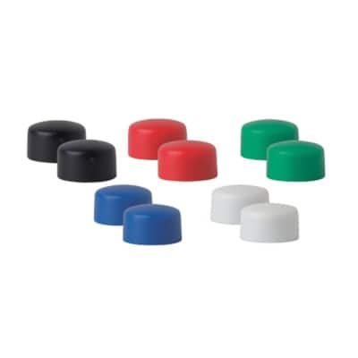 Niceday Whiteboard Magnets 10 mm Multi Coloured Pack of 10