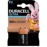 Duracell 9V Alkaline Batteries Ultra Power MX1604 6LR61 9V