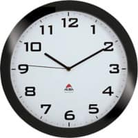 Alba Analog Wall Clock HORISSIMO N 38 x 5.5cm Black