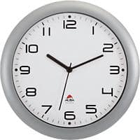 Alba Analog Wall Clock HORNEW M 30 x 5.5cm Silver Grey