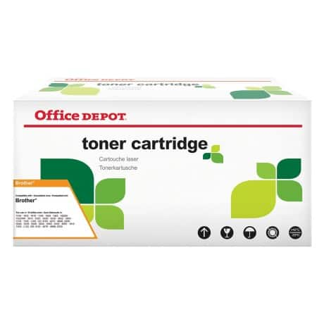 Office Depot Compatible Brother TN-2210 Toner Cartridge Black