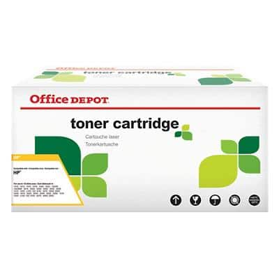 Office Depot Compatible for HP 650A Cyan Toner Cartridge CE271A
