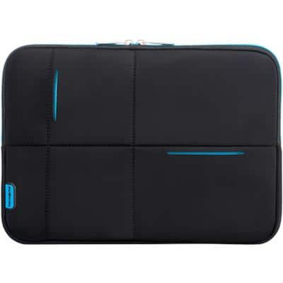 Samsonite Laptop Sleeve Airglow 14.1 Inch Neoprene, Polyester Black, Blue 26 x 36 x 6 cm