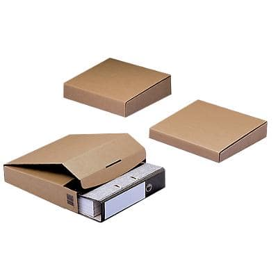 ColomPac Postal Boxes 300 (W) x 328 (D) x 92 (H) mm Brown Pack of 20