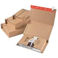 ColomPac Universal Postal Boxes 328 (W) x 200 (D) x 100 (H) mm Brown Pack of 20