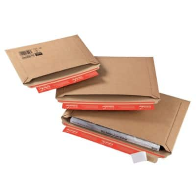 ColomPac CP 015 Envelopes Brown 270 x 185 x 50 mm 20 Pieces