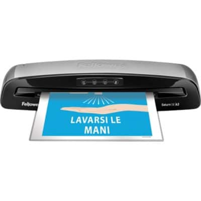 Fellowes Saturn 3i Laminator A3 Warm Up Time 1 Minute Upto 125 Microns
