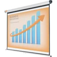 Nobo Projector Screen Wall Mounted White 175 x 109 cm