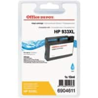 Office Depot Compatible HP 933XL Ink Cartridge CN054E Cyan