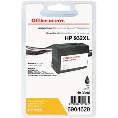 Office Depot Compatible HP 932XL Ink Cartridge CN053E Black