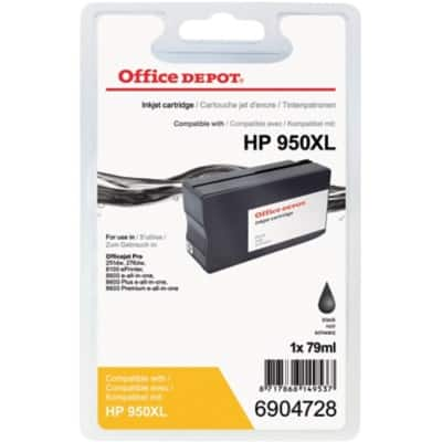 Office Depot Compatible HP 950XL Ink Cartridge CN045AE Black