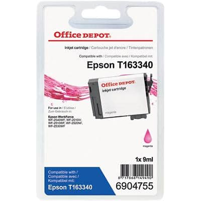 Office Depot Compatible Epson 16XL Ink Cartridge T163340 Magenta