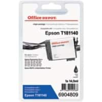 Office Depot Compatible Epson 18XL Ink Cartridge T181140 Black
