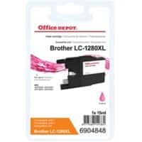 Office Depot Compatible Brother LC1280XLM Ink Cartridge Magenta